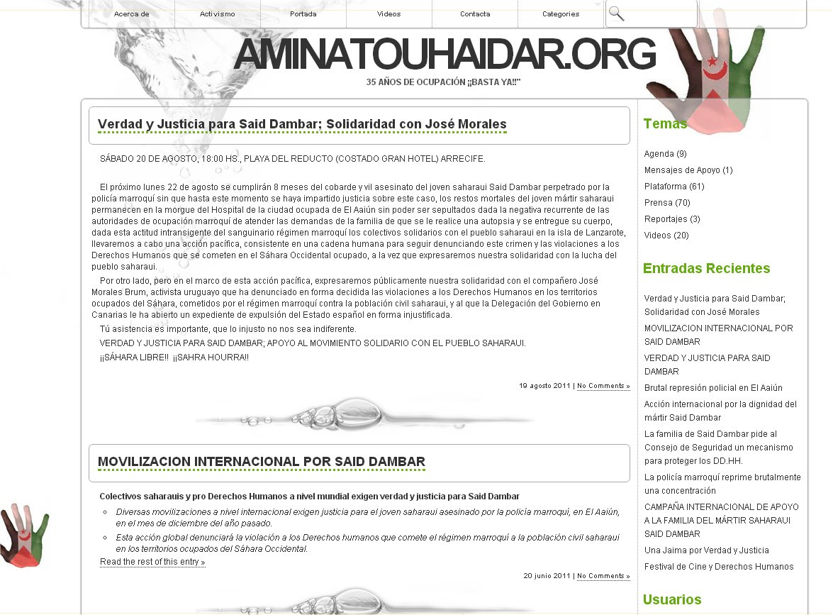 aminatou haidar org