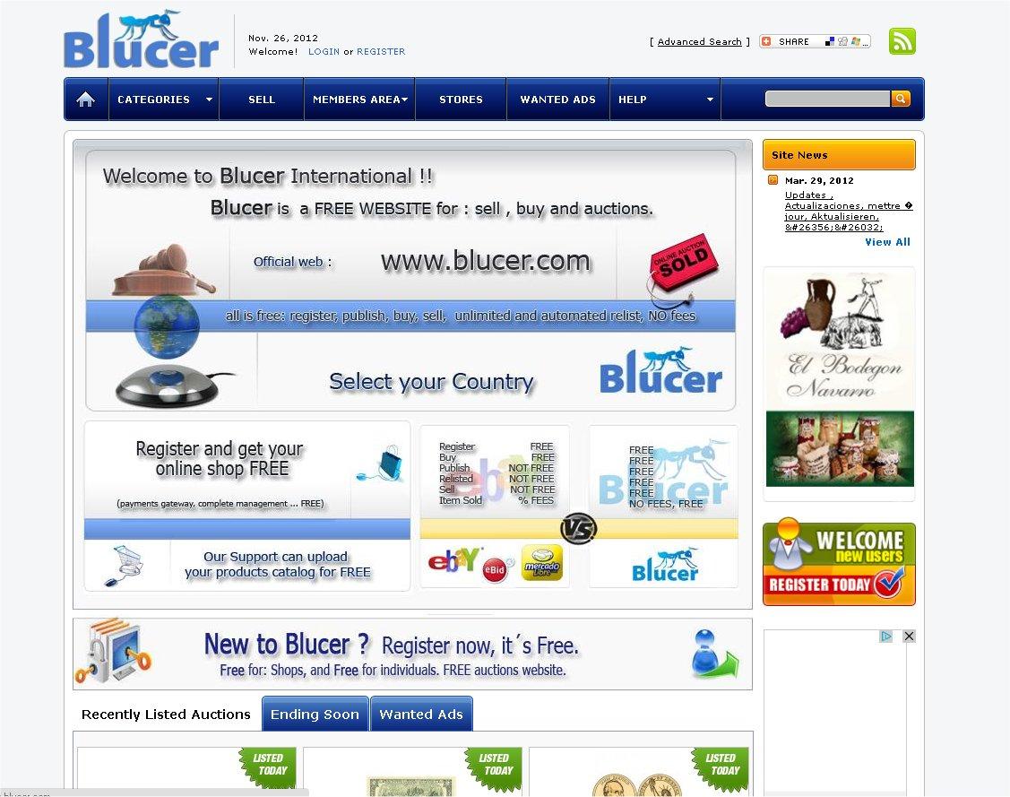 blucer auctions subast tienda