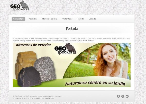 geospeakers web