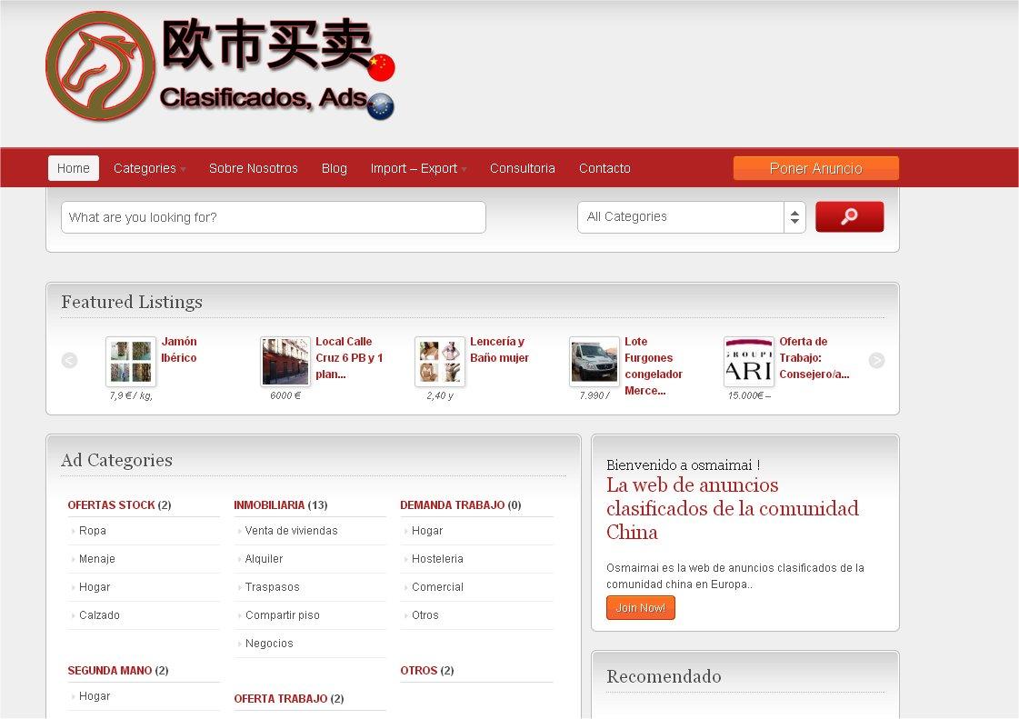 osmaimai anuncios china