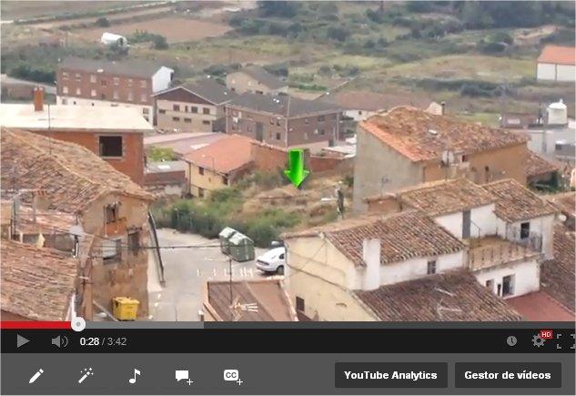 Filmación aérea y edición de vídeo. solar en Ausejo, La Rioja.